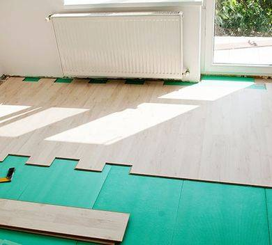 Шумоизоляция пола в квартире под стяжку и ламинат, современные материалы