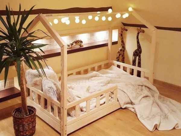 Детские кроватки-домики (23 реальных фото и видео) - подборка идей