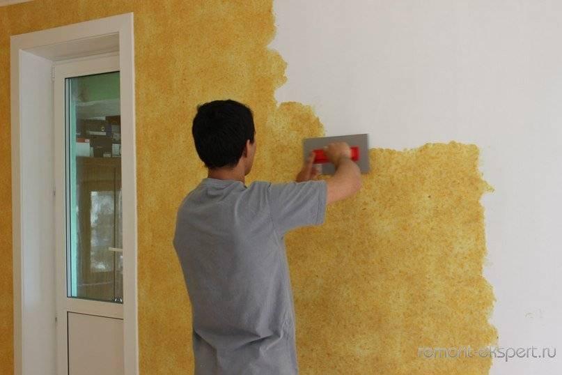 Как правильно наносить на стену жидкие обои? 106 фото: какой колер и как можно нанести на гипсокартон, подготовка и технология нанесения, как разводить и клеить