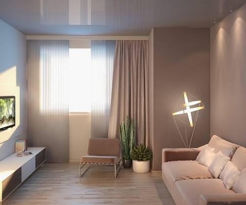 Как визуально увеличить потолок в комнате: зрительное увеличение высоты