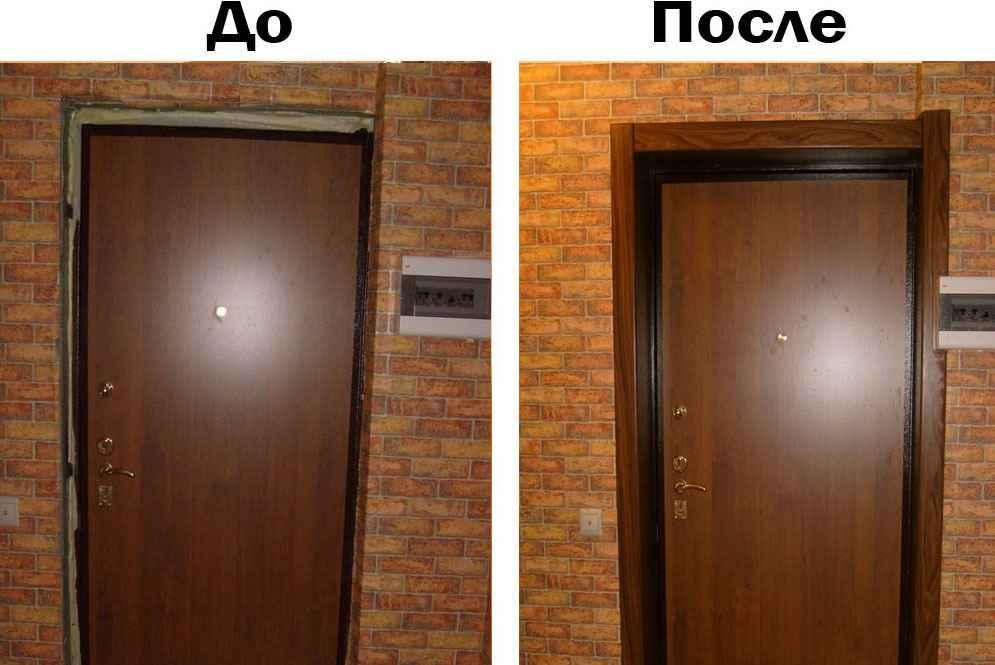 Обшить входную дверь: чем и как это можно сделать своими руками, если она деревянная, металлическая, как использовать изнутри и извне ламинат, мдф, панели?