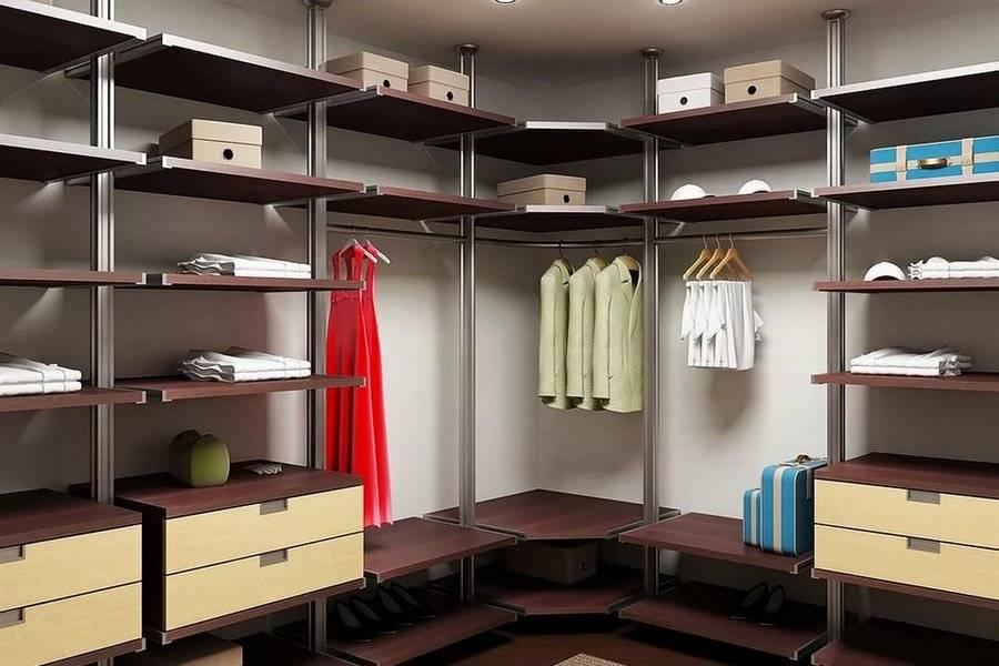 Дизайн гардеробной комнаты: фото проектов