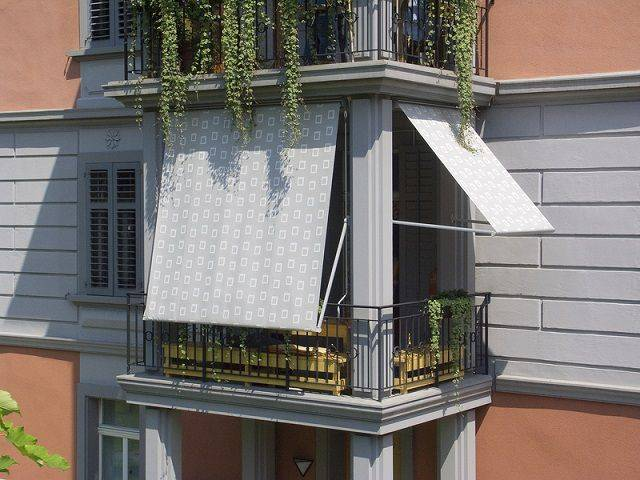 Чем закрыть окна на балконе от солнца - строительный журнал palitrabazar.ru