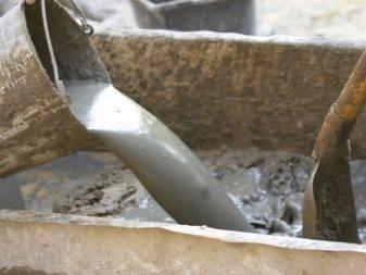 Как развести цемент с песком?