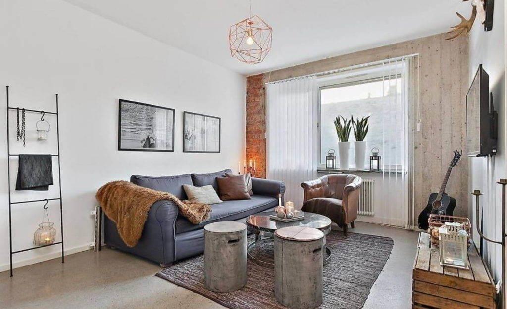 Гостиная в скандинавском стиле: особенности стиля, советы дизайнеров + 90 фото новинок