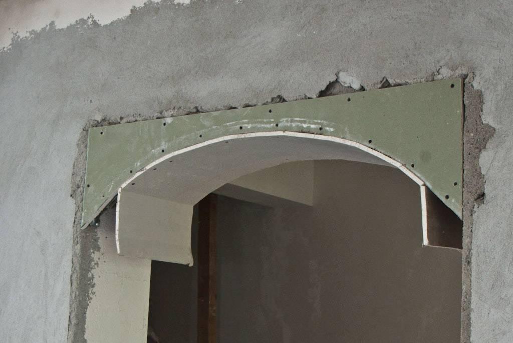 Арочный проем в стене: как сделать фигурный или прямой каркас под арку своими руками в панельном или частном доме, что понадобиться