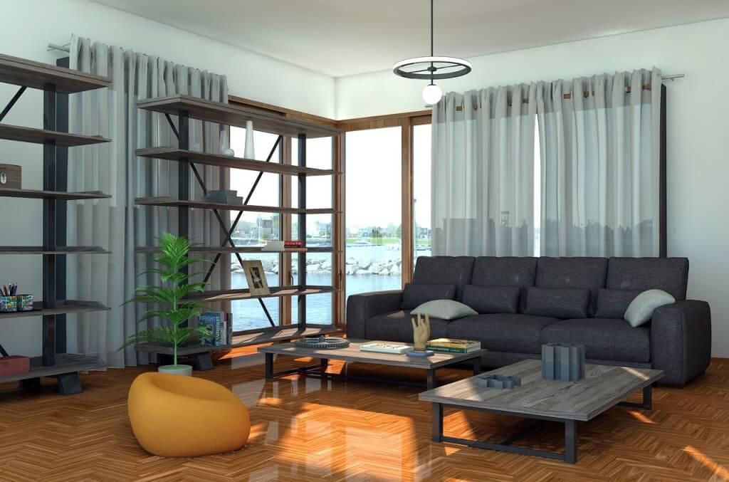 Интерьер гостиной 2021: тренды, тенденции, цвета (фото)