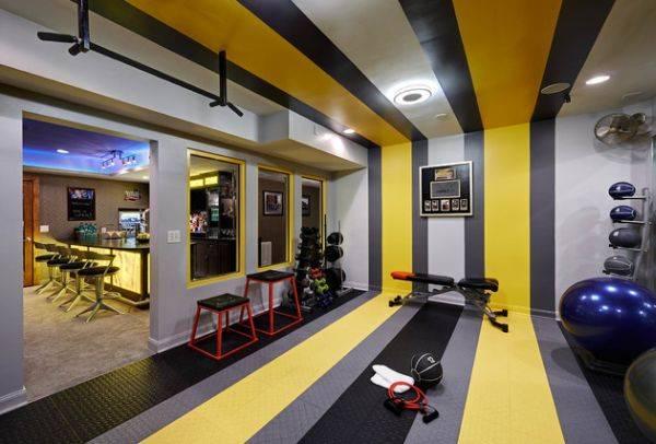 Дизайн домашнего спортзала: всегда крепкое здоровье