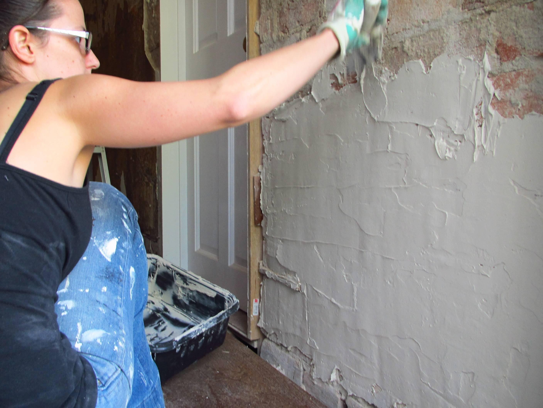 Технология выравнивания стен под обои - клуб мастеров