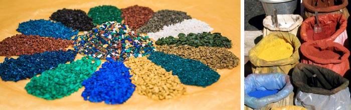 Производство цветного щебня как бизнес: перечень оборудования, описание технологии изготовления, нюансы покраски