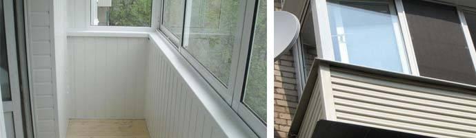Как сделать обшивку балкона сайдингом снаружи
