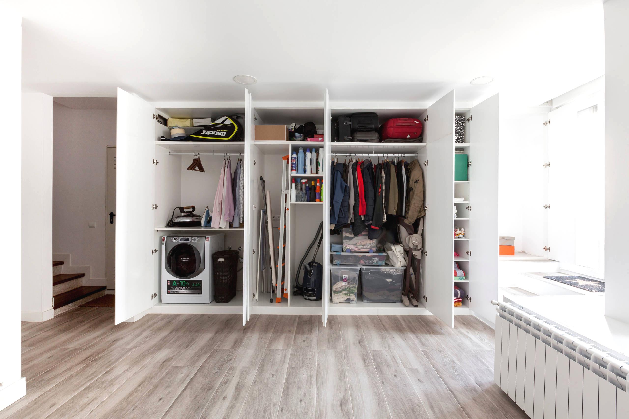 Наполнение для шкафов-купе и гардеробных: примеры и советы