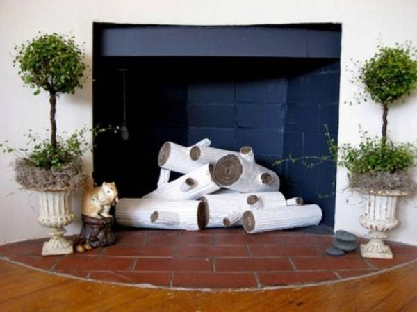 Имитация огня в камине своими руками: муляж и искусственный огонь, декоративные дрова, как сделать пламя как сделать имитацию огня в камине своими руками – дизайн интерьера и ремонт квартиры своими руками