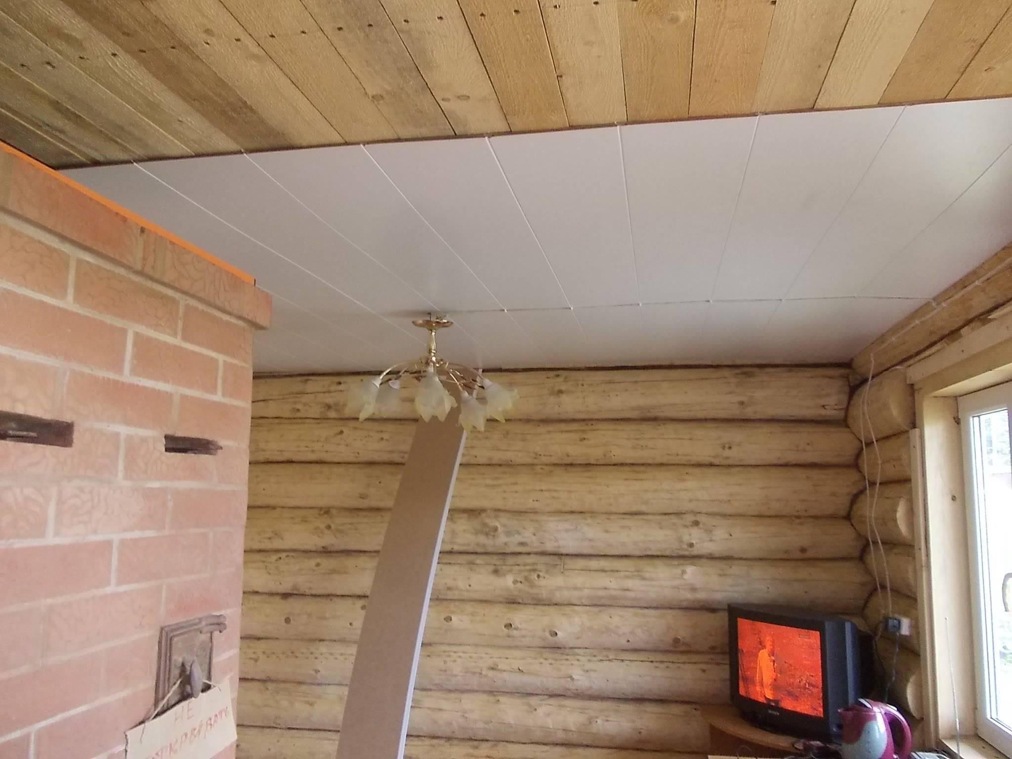Как своими руками сделать потолок из сайдинга?