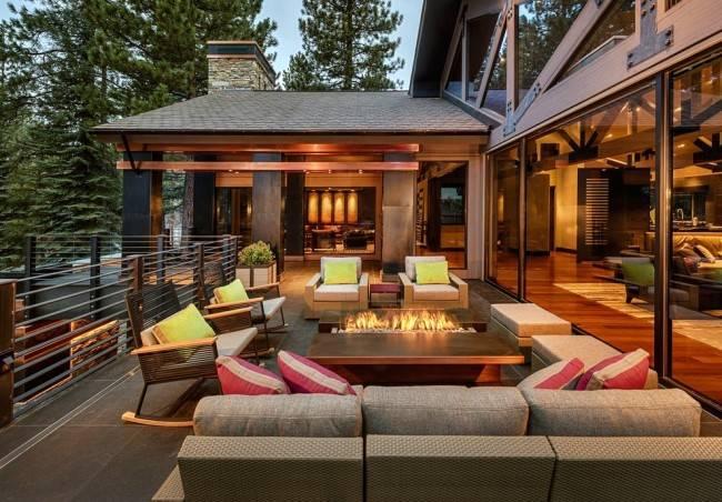Дизайн веранды на даче – 80 фото как оформить и обустроить интерьер!