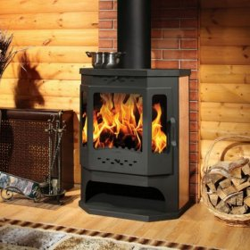 Печь на дровах длительного горения для дома, дачи и бани