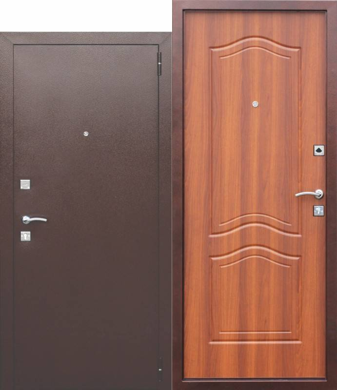 Как выбрать входную металлическую дверь в квартиру