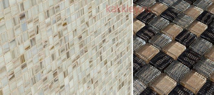 Видео укладки мозаики на сетке на гипсокартон