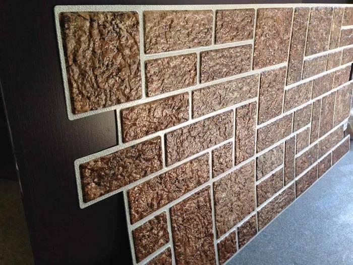 Пвх-панели «под кирпич»: пластиковые белые стеновые листы для внутренней отделки и под состаренный кирпич