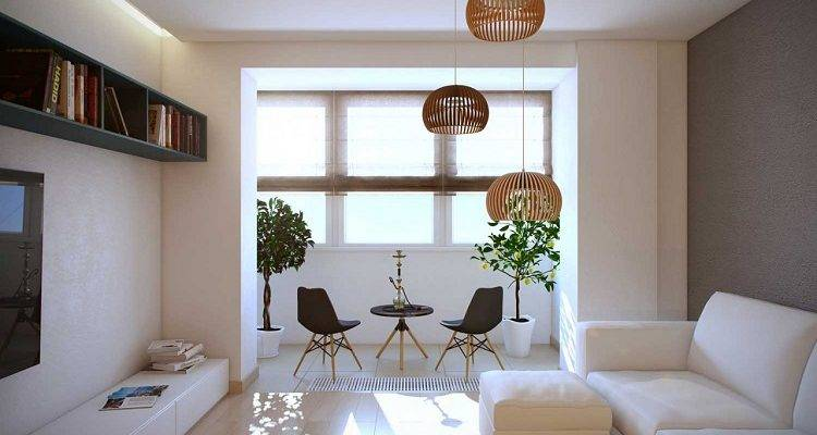 Комната на балконе - ремонт, утепление, интерьер (25 фото)