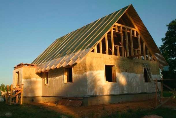 Постройка глинобитного дома — возрождение старых технологий в современности