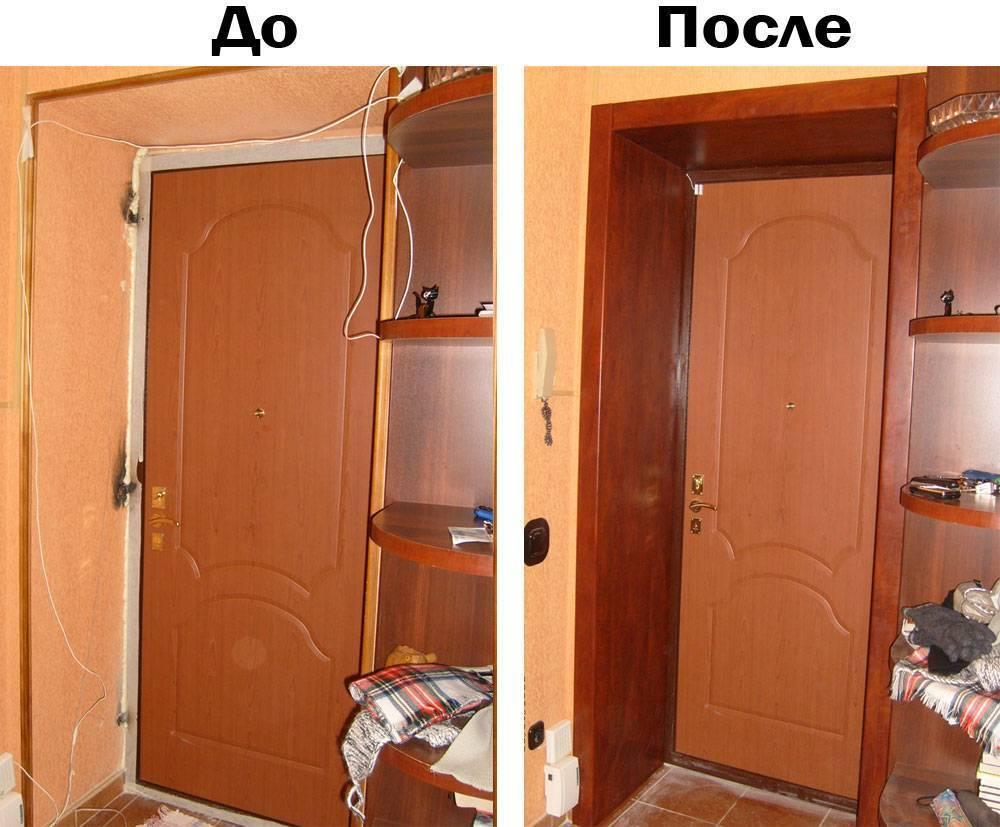 Как установить доборы на межкомнатные двери своими руками