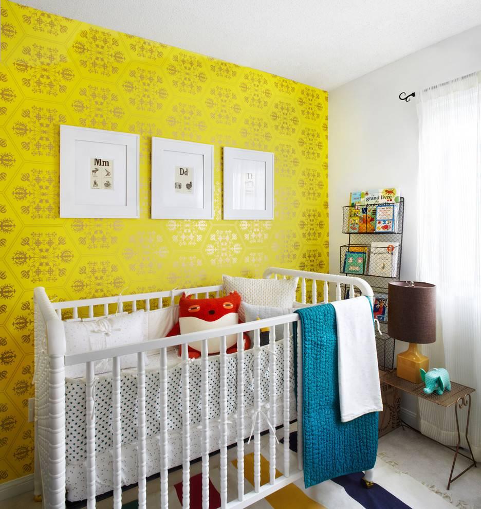 Детские виниловые обои: модели на флизелиновой основе для детской комнаты