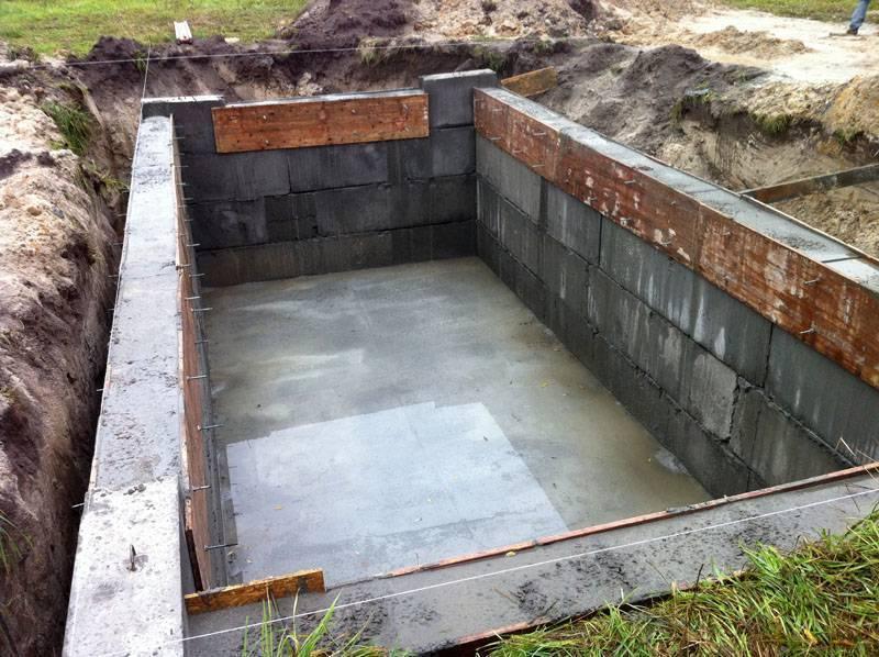 Погреб в гараже - обустройство, размеры, глубина, овощная яма для хранения урожая, фото-материалы