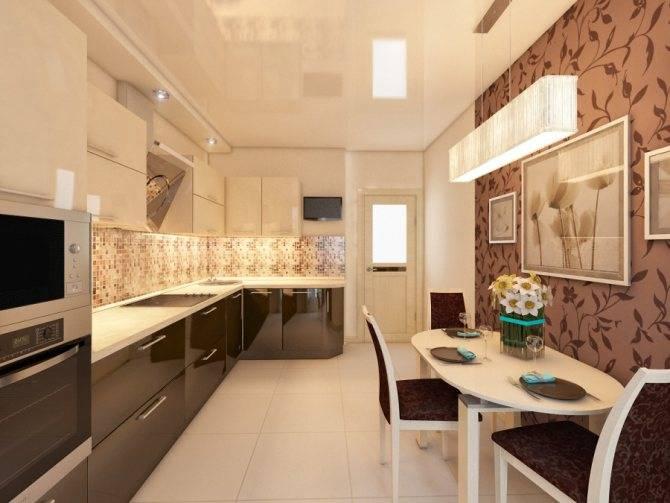 Дизайн кухни в светлых тонах, реальные фото