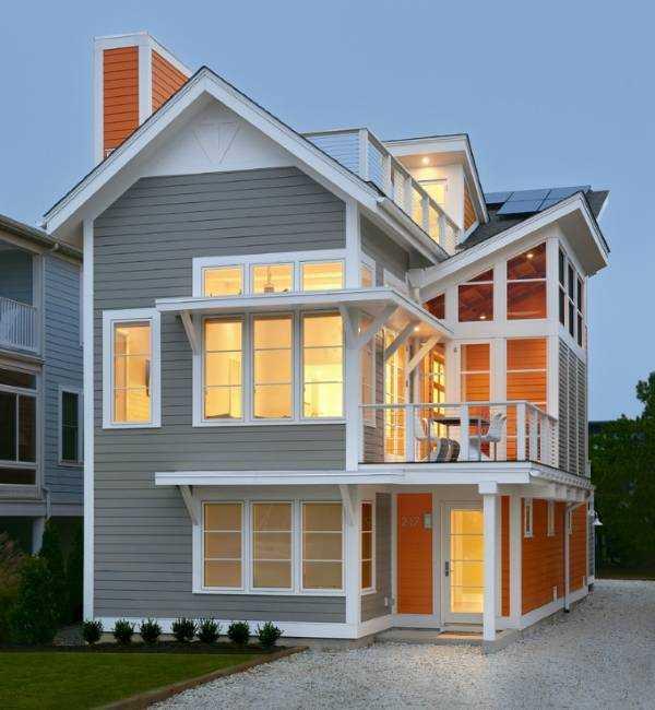 Цвет фасада дома: советы дизайнеров по выбору цвета и обзор лучших сочетаний (180 фото + видео)