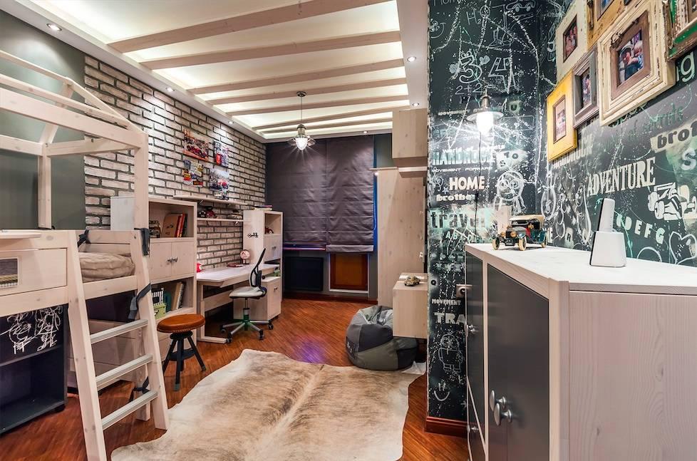 Потолок в детскую: 90 фото креативных идей и советы по монтажу, как украсить в дестком саду и дома