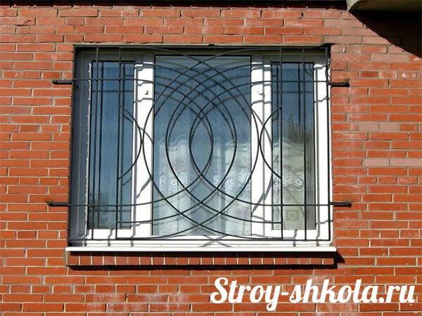 Как выбрать и установить решетки на окна- фото дизайнов, видео урок