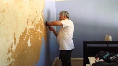 Как поклеить обои на крашеные стены - клуб мастеров