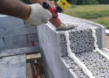 Как выглядит баня из керамзитобетонных блоков?