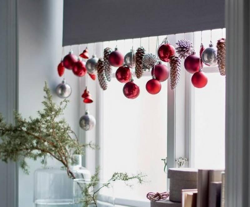 Украшение окон к новому году своими руками, трафареты новогодних украшений из бумаги, шаблоны