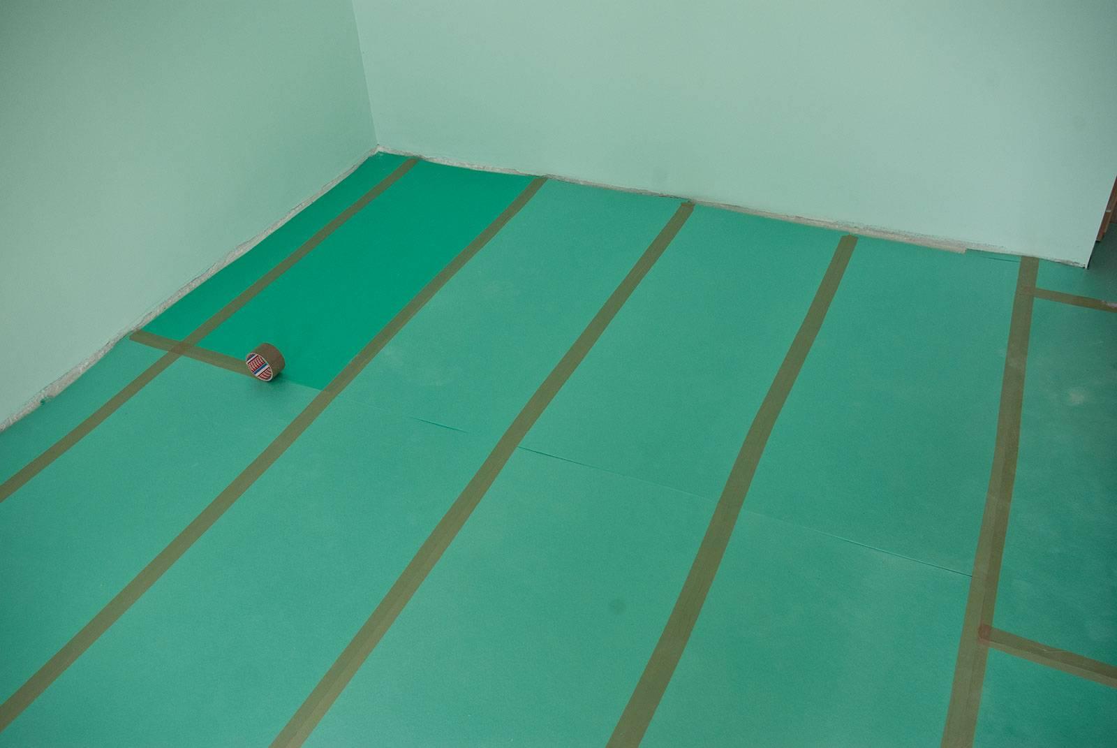 Укладка ламината на бетонный пол с подложкой: технология (+видео)