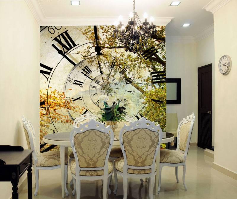 Таблица сочетания цветов в интерьере - шторы и обои, раскладки, фото