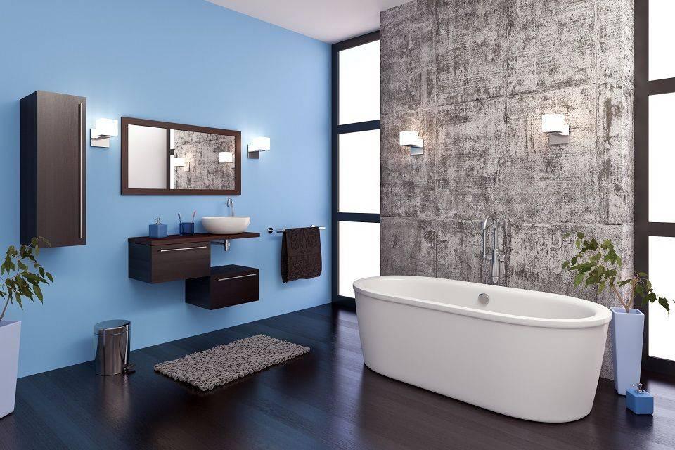 Синий цвет в интерьере: сочетание с другими цветами в гостиной комнате, дизайн в сине-желтых тонах - 37 фото