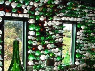 Утепляем пол в бане бутылками. простая наглядная схема
