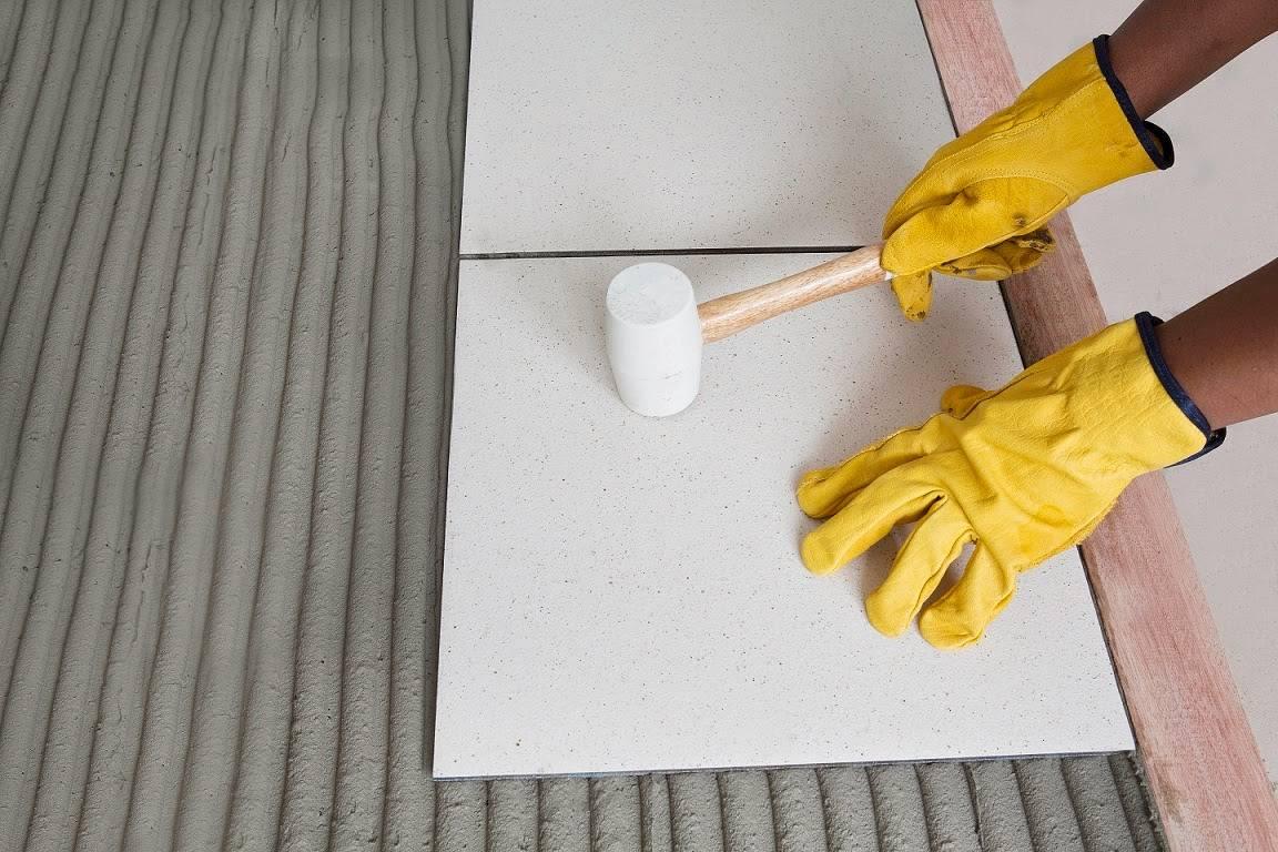 Технические характеристики и инструкция по использованию клея крепс усиленный для плитки