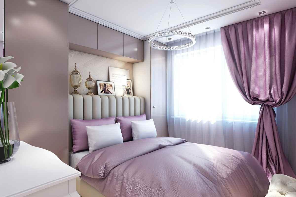 Варианты использования фиолетового цвета в интерьере