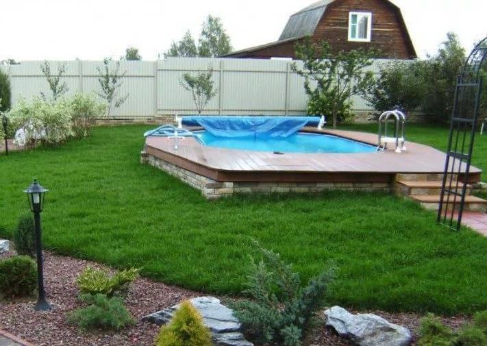 Как сделать бассейн на даче своими руками: лучшие варианты и мастер-классы