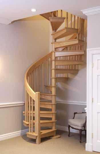 Лестница своими руками из дерева винтовая: чертежи изготовления