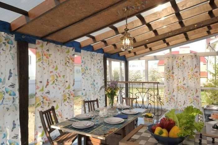 Отделка веранды в частном доме: фото внутри отделка веранды в частном доме: фото внутри