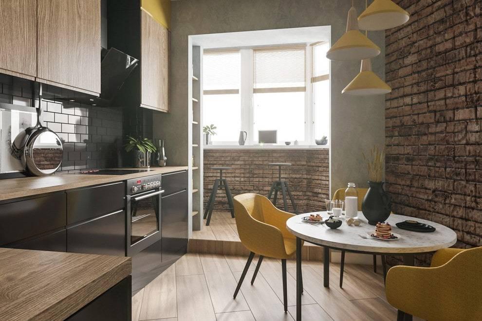 Объединение балкона (лоджии) с кухней, комнатой, документы, порядок работ, идеи оформления