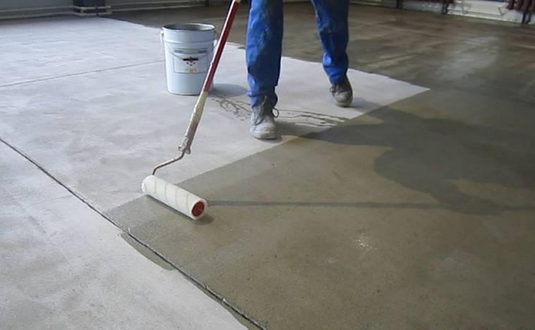 Обеспыливание бетонного пола своими руками - советы