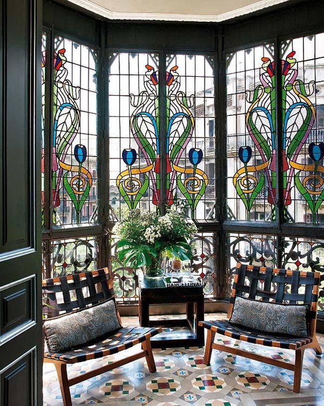Витражная пленка на стекло: 145+ (фото) интерьеров с рисунком