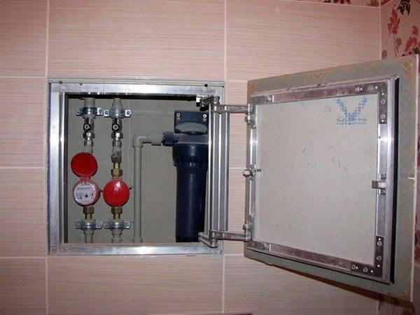 Монтаж люка невидимки под плитку: правильная установка