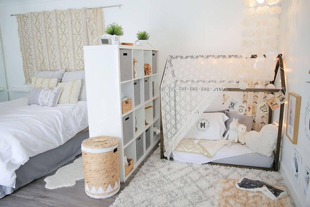 Обустройство спальни в детской в одной комнате