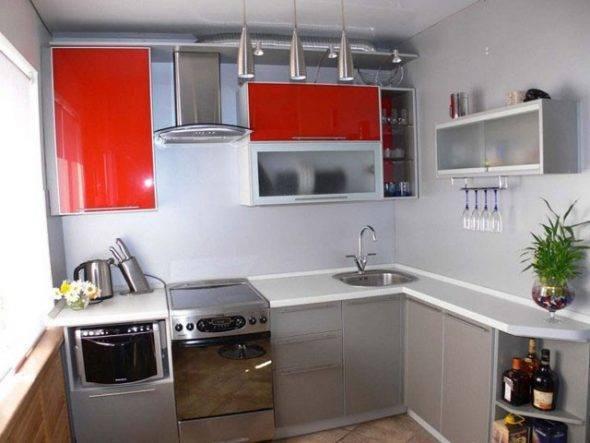 Как все вместить в маленькую кухню – советы, варианты, фото